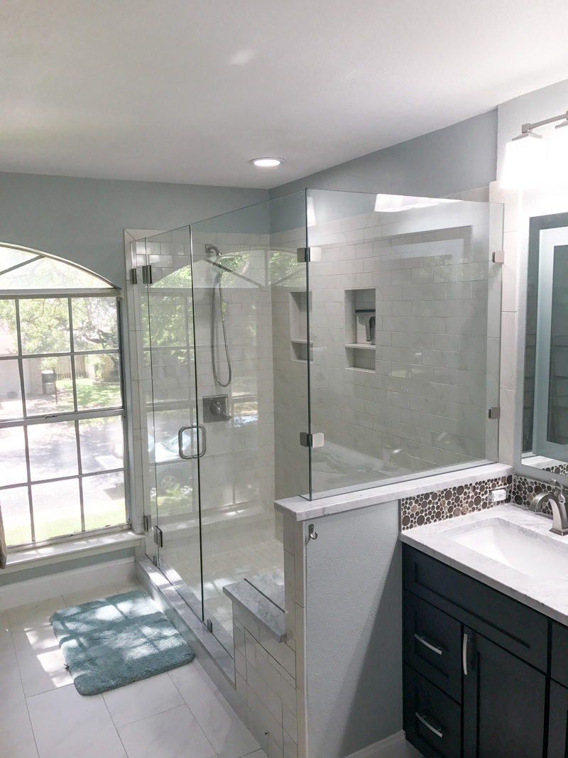 Home Premier Glass - Bathroom remodel pflugerville