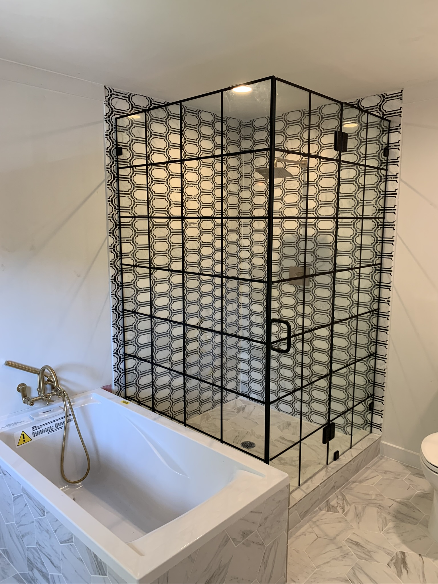 Grid Shower Enclosure