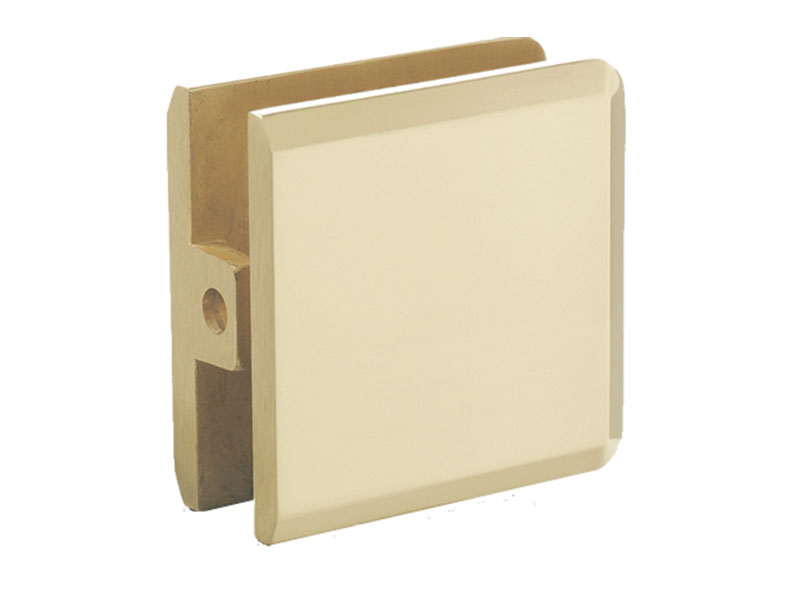 Beveled Wall Mount Glass Clip