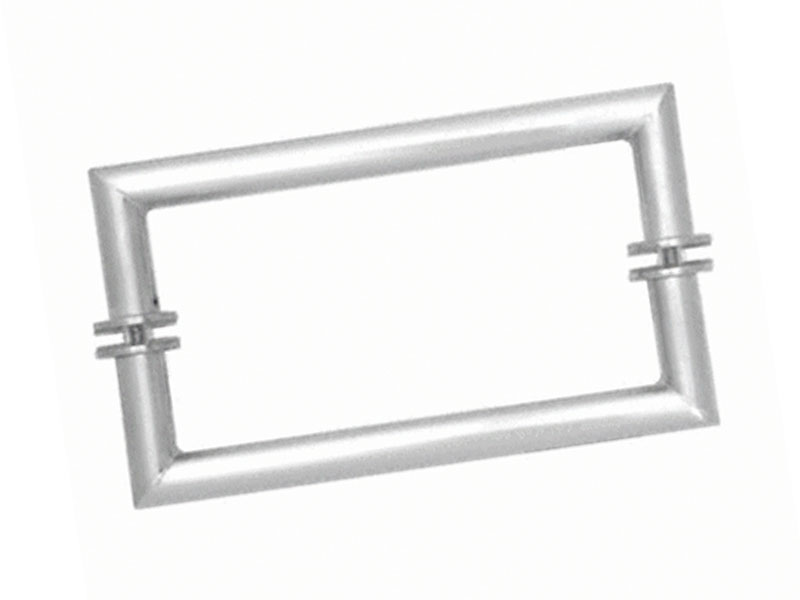Mitered Back-to-Back With Washers Towel Bar