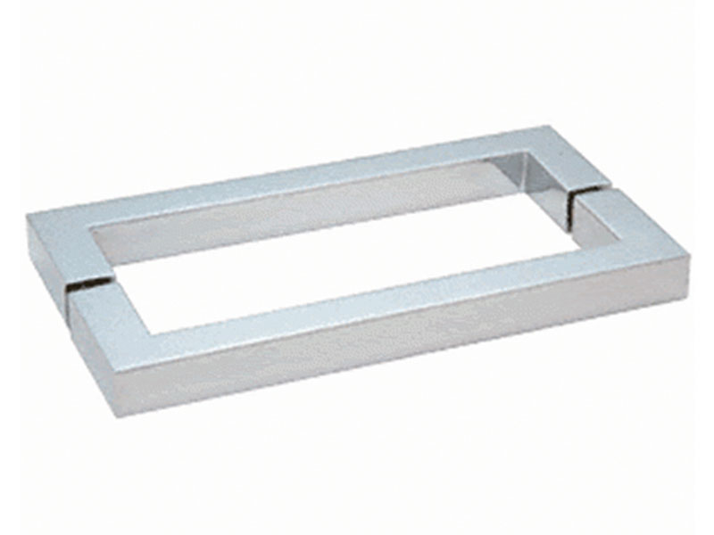 Square Series Back-to-Back Towel Bar